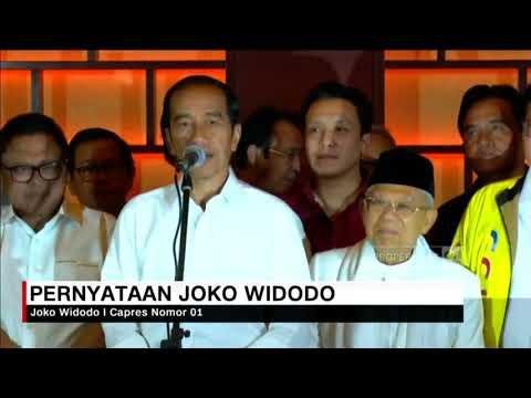 Menang Quick Count, Jokowi Minta Tunggu Hasil KPU