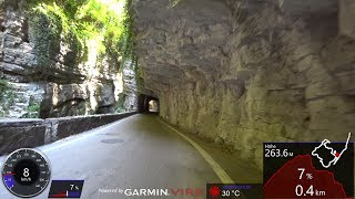 30 Minute Cycling Workout Brasa Canyon Italy Ultra HD Video Garmin