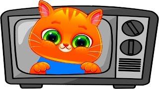 ГОВОРЯЩИЙ КОТЕНОК БУБУ #42 - ХЭЛЛОУИН - Bubbu My Virtual Pet - игровой мультик для детей #ПУРУМЧАТА