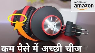 2018 New Launched Cheap Price Headphone Unboxing & Review