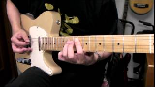 Dizzy Mizz Lizzy - Waterline (Guitar Cover)