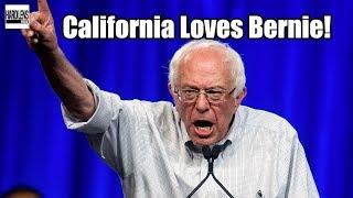 Bernie Sanders Is About To Sweep California - Corpratists Scrambling