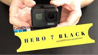 GoPro Swivel mount, 3 way accessory & GoPro Hero 7 Black (unboxing)