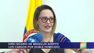 RED+ | Niño Sicario De Medellín Se Allanó A Los Cargos Por Doble Homicidio