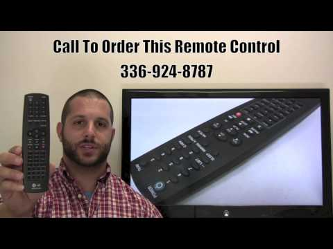 LG AKB73575301 TV/VCR Combo Remote Control