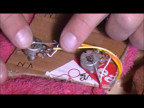 SOLDERING PICK-UPS TO A LP-1 OR MB-1 (PART 2)