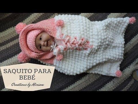 Super Facil saquito piel de Oveja para Bebe