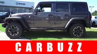 2016 Jeep Wrangler Unlimited Rubicon Review - Born To Go Offroad