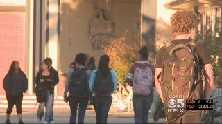 Napa County Students Return To School After Wildfires