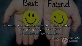 Best Friends   Friendship Quotes - The Emotional Typewriter