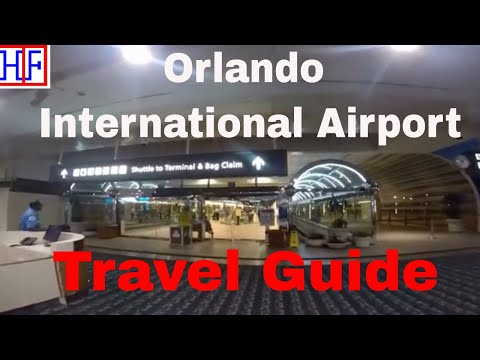 Orlando International Airport (MCO) – Arrivals and Ground Transportation Info | Travel Guide | Ep#1