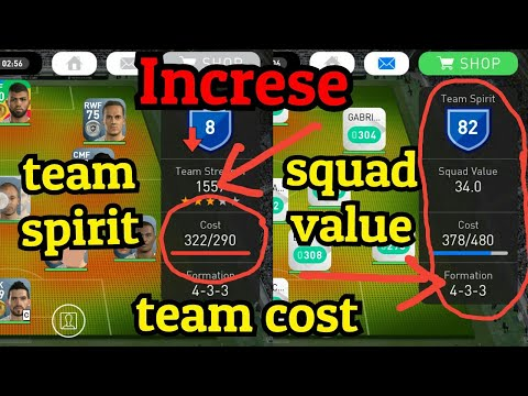 Tricks to increase squad value PES 2018 Mobile - игровое