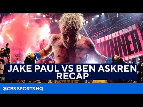 Jake Paul DOMINATES Ben Askren | Full Recap | CBS Sports HQ