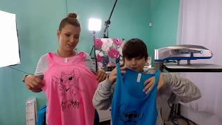 Crafting For Disney His Angel Her Stitch Shirts