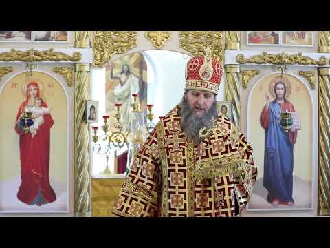 Митрополит Даниил совершил Литургию в Иоанновском храме села Кетово в годовщину его освящения