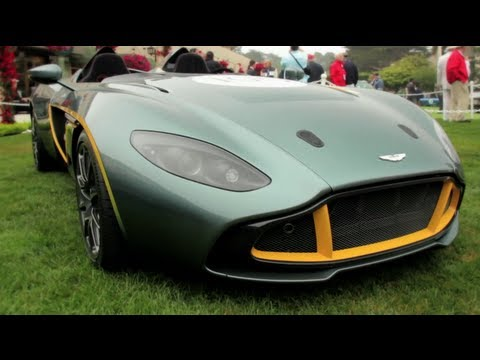 Aston Martin CC100 Speedster Concept at Pebble Beach