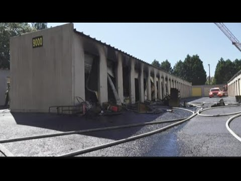 Fire at Garners Ferry storage facility