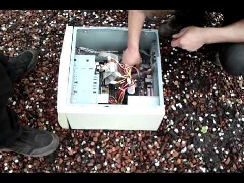 Computer explosion