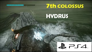 Shadow Of The Colossus Remastered PS4 Gameplay HD | 7th Colossus Hydrus