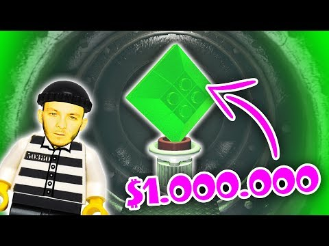 DOKÁŽEME VYKRÁST BANKU? | Lego GTA #7