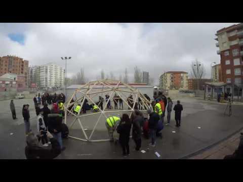 'Time lapse' de la construcción./CIFP PC