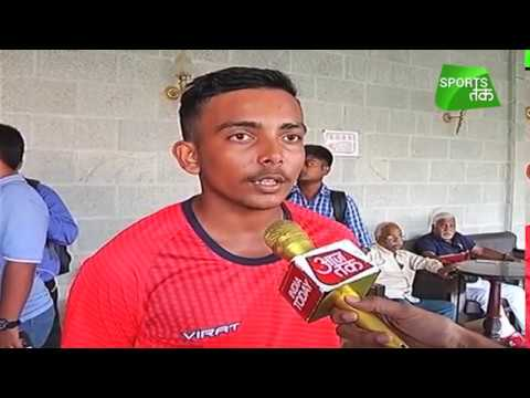 Dream Is To Play For India One Day: Prithvi Shaw | Sports Tak