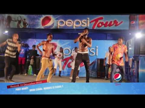 Pepsi Tour - Admirez vos artistes préférés Doliziana Debordo et Lunik