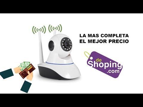 La mejor Camara de vigilancia wifi de bajo costo - Probando el Gadget/ deshoping.com