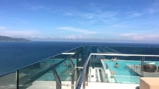 Sea View at Rooftop Infinity Pool at A La Carte Da Nang Beach