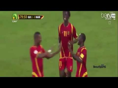 Guinea - Namibia 2:0 World Qualifiers 2018 Highlights