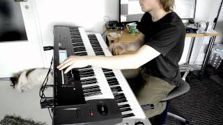 Children of Bodom - Not My Funeral (keyboard cover)