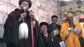 Easter Celebration Good Friday @ Ethiopian Orthodox Tewahedo Monastery In Jerusalem Der SulTan