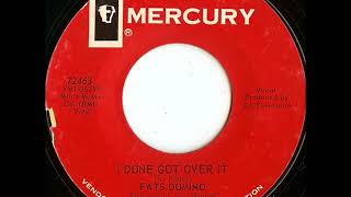 Fats Domino - I Done Got Over It - June 3, 1965