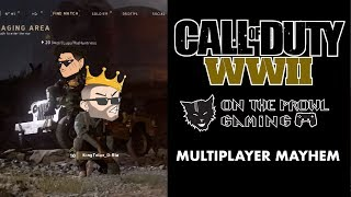 COD WW2  Multiplayer Mayhem!!