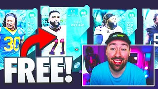 FREE 88 overall Ultimate Kickoff pack!! Madden 21 No Money Spent Ep. 14