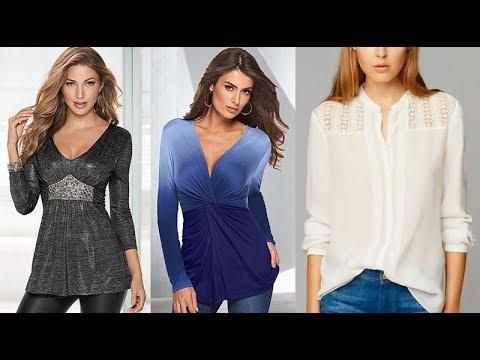 Blusas y túnicas para mujeres de 40 años, 50 años