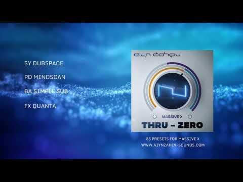 Massive X Soundset: Thru Zero