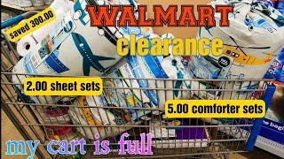 Walmart CLEARANCE Shopping 5.00 COMFORTER SETS,cheap Notebooks,2.00 SHEET SETS