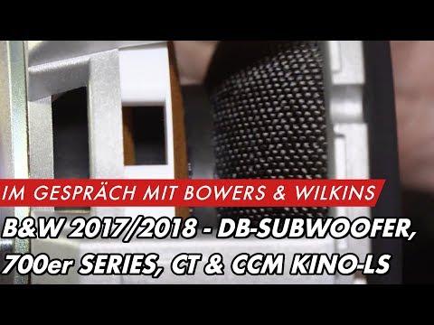 B&W Modelle 2017/2018: Subwoofer DB Serie, Lautsprecher 700er, Heimkino CT und Inwall CCM | GROBI.TV