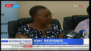 KNH CEO,Lily Koros responds to claims on sexual harassment and say investigations will be done