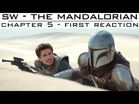 The Mandalorian Chapter 5 - Captain Foley's First Reaction