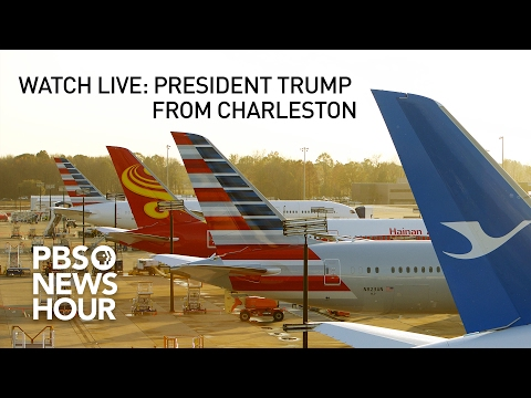 Watch Live: President Trump talks jobs from Boeing