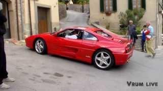 preview picture of video 'Viaggio nel Tempo-Raduno Ferrari 2013 Civitella in Val di Chiana (AR)'