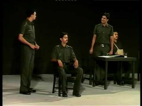 As Lt. Colonel & Commanding Officer in Court Martial directed by Ranjeet Kapoorji