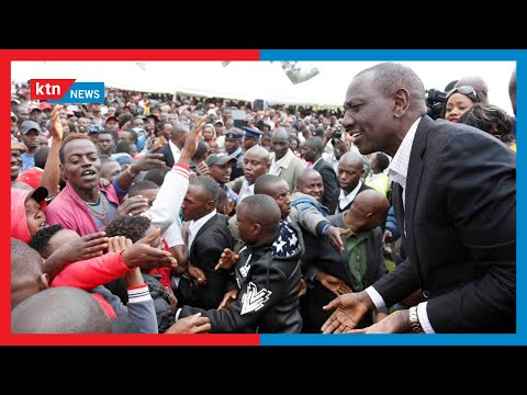 Ruto defends his Bottom-up economic model says it is aimed at empowering the week in society