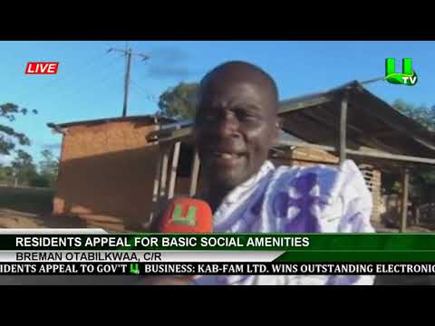 C/R: Breman Otabilkwaa Residents Appeal For Basic Social Amenities