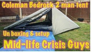 The Coleman Bedrock 2 man tent review