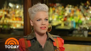 See Pink's Extended Interview With Carson Daly | TODAY