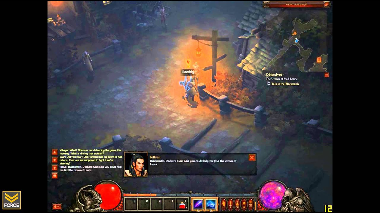 Leaked Diablo III Footage And Screens Show Menus, Characters