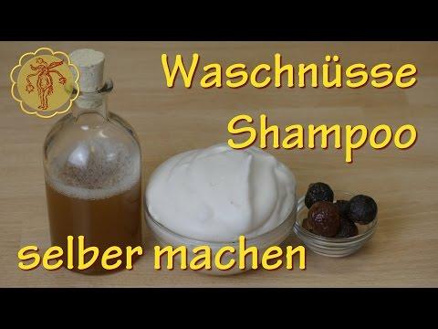 Waschnüsse-Shampoo selber machen - Haarwäsche mit einem Naturprodukt